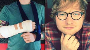 Fans Lay Into Ed Sheeran After He Postponed Tour Dates Because Of Injured Arms