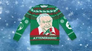 You Can Buy David Attenborough Christmas Jumpers, Which Is Obviously Brilliant