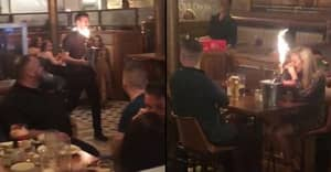 Restaurant Owner Pranks Couple On First Date Making It Look Like They Got Engaged