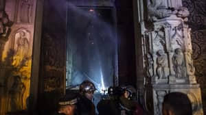 Pictures Reveal The Extent Of Damage Inside Notre Dame Cathedral