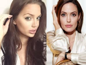 Let's Mourn The Branjelina Split By Looking At Jolie's Spitting Image