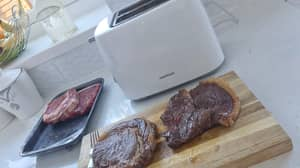 Professional Chef Says You Can Cook 'Restaurant Quality' Steak In Toaster