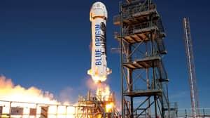 Jeff Bezos' 'Space Penis' Rocket Breaks Record