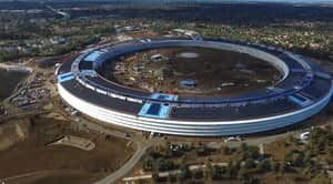 Someone Flew A Drone Over Apple's New Campus And It's Modern AF