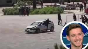 Man Who Saved Crowds From Dangerous Driver With Drop Kick Speaks Out