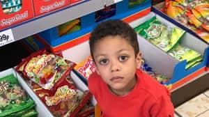 Little Boy Finds Bats**t Crazy Surprise In Bag Of Sweets