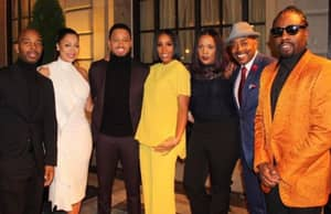 The Obamas Party With Hollywood Celebrities At Farewell Party Until 4AM