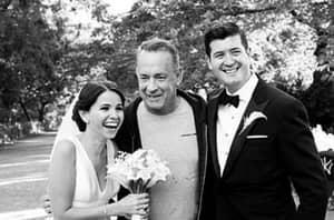Tom Hanks Crashes Newlyweds' Photo Shoot, Remains A Legend