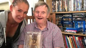 Pensioner With Down's Syndrome Prepares To Celebrate His 72nd Birthday