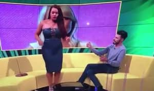 A Supposedly Famous Person Had A Wardrobe Malfunction On Television