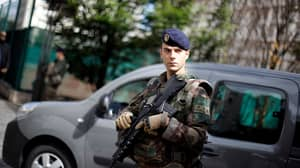 French Police Hunt Driver After Attack On Soldiers