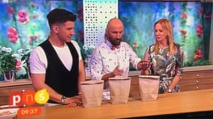 Magic Trick Goes Disastrously Wrong Live On TV As Magician 'Stabs Presenters Hand'