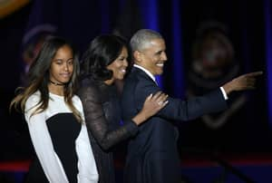 President Obama Pays Tribute To His Family In His Emotional Farewell Speech
