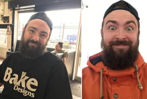 Lad Shaves Beard After Losing Bet To Girlfriend, Mum Doesn't Recognise Him In Supermarket