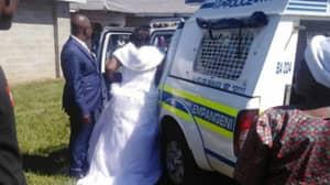 Bride And Groom Arrested After Holding Wedding Ceremony During Lockdown