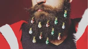 You Can Now Decorate Your Beard With Christmas Ornaments