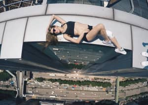 Russian Girl Poses On Skyscrapers And You Definitely Shouldn't Copy Her