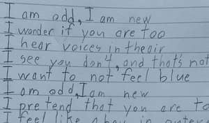 10-Year-Old Writes Amazing Poem About Life With Aspergers