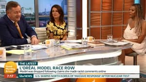 Piers Morgan Rows With Transgender Model Over Controversial Racism Comments