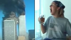 Video Shows Moment US Students Caught 9/11 Attack On Film And Fled Their Own Building