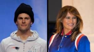 Tom Brady Roasted On Twitter For Dressing Like Melania Trump