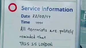 People Are Loving A Tube Sign Which Sums Up British Feelings At The Moment