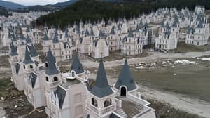 This Village Is Made Up Of 500 Abandoned Disney-Style Castles
