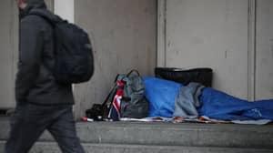 Drunk Man Sets Fire To Homeless Girl's Sleeping Bag