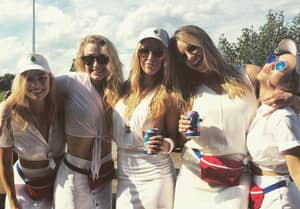 Margot Robbie Took Part In A Boozy Golf Tournament With 'Suicide Squad' Co-Stars