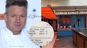 Couple Left With Huge Bill At Gordon Ramsay's Restaurant After Reading Menu Wrong