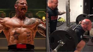 Martyn Ford Has Been Training With Eddie Hall For His MMA Debut