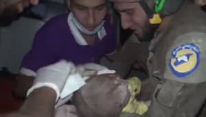 BBC Newsreader Cries As She Tells Of Rescue Of 30-Day-Old Baby In Syria