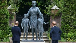 Statue Of Princess Diana Unveiled At Kensington Palace By Prince William And Prince Harry