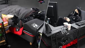 The Ultimate 'Gaming Bed' Finally Exists, And Society Has Peaked