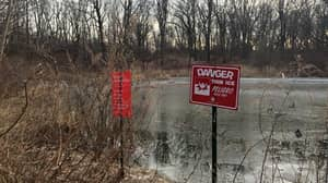 Boy Drowns Trying To Save Friend Who Fell Into A Frozen Pond