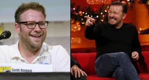 Ricky Gervais And Seth Rogen Joked About Penises On Twitter