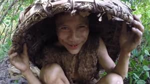 Footage Shows Man Who Lived In Jungle For 41 Years Experiencing The Outside World