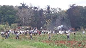 Footage Emerges From Tragic Cuban Plane Crash
