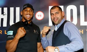 Anthony Joshua Won By Knockout Against Éric Molina In The Third Round