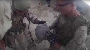 Marine Survives Taliban Sniper Headshot By Inches During Battle In Afghanistan