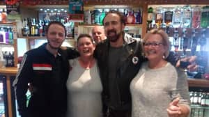 Somerset Resident Says Nicolas Cage Spent NYE In Local Pub And Bought Everyone A Drink
