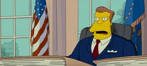 The Simpson's Predicts That Arnold Schwarzenegger Will Take Over From Trump