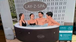 Morrisons Is Selling A Four Person Lay-Z Spa For A Bargain Price