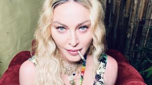 Madonna Celebrates 62nd Birthday With Spliff And Big Tray Of Weed