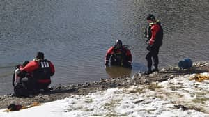Father Dies Saving His Daughter From A Frozen Pond