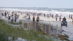 ​Florida Beaches Packed Within Half An Hour Of Reopening