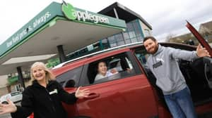 Kildare Baby Born On Applegreen's Forecourt Gets Free Petrol For A Year