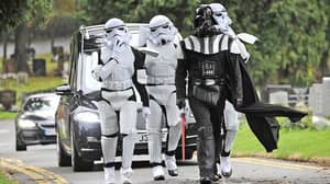 Darth Vader Leads Woman's Funeral Procession With Stormtroopers