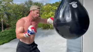 Chris Hemsworth Is In Ridiculous Shape Ahead Of Extraction 2