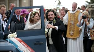 Kit Harington And Rose Leslie Are Officially Married